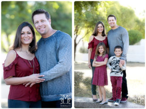 family, holiday, outdoors, burgandy, grey