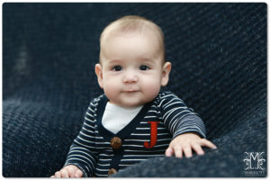 Baby boy, navy blue, red, white