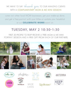 Mother's Day Client Appreciation Event