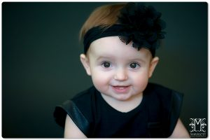 1 year, black, big eyes, girl, headband