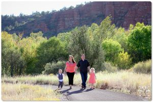 sedona, outdoors, family photos,