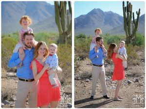 family, fun, desert, bright colors